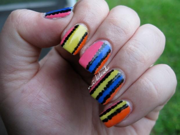 Neon Stripes 1
