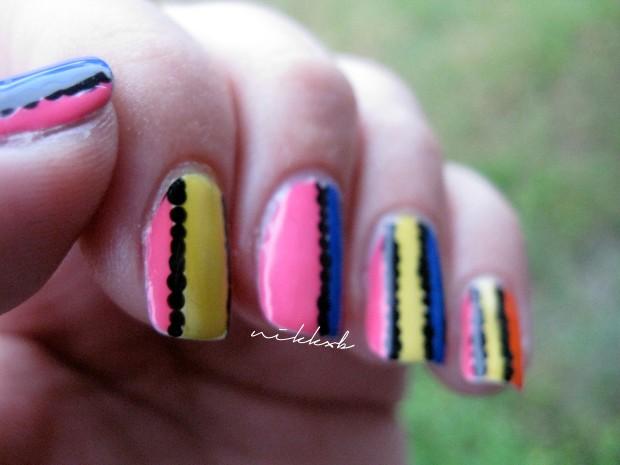 Neon Stripes 2