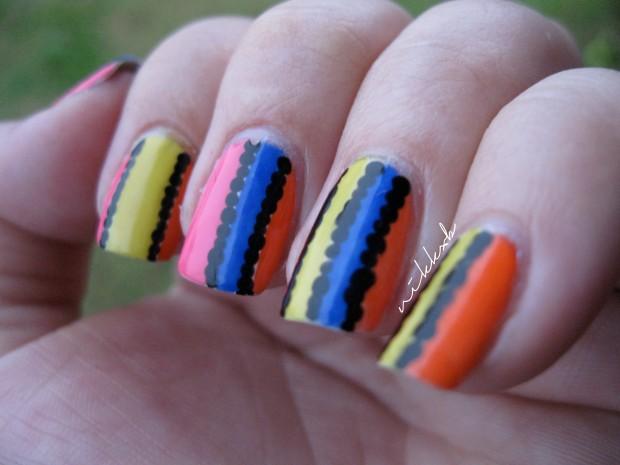 Neon Stripes 3