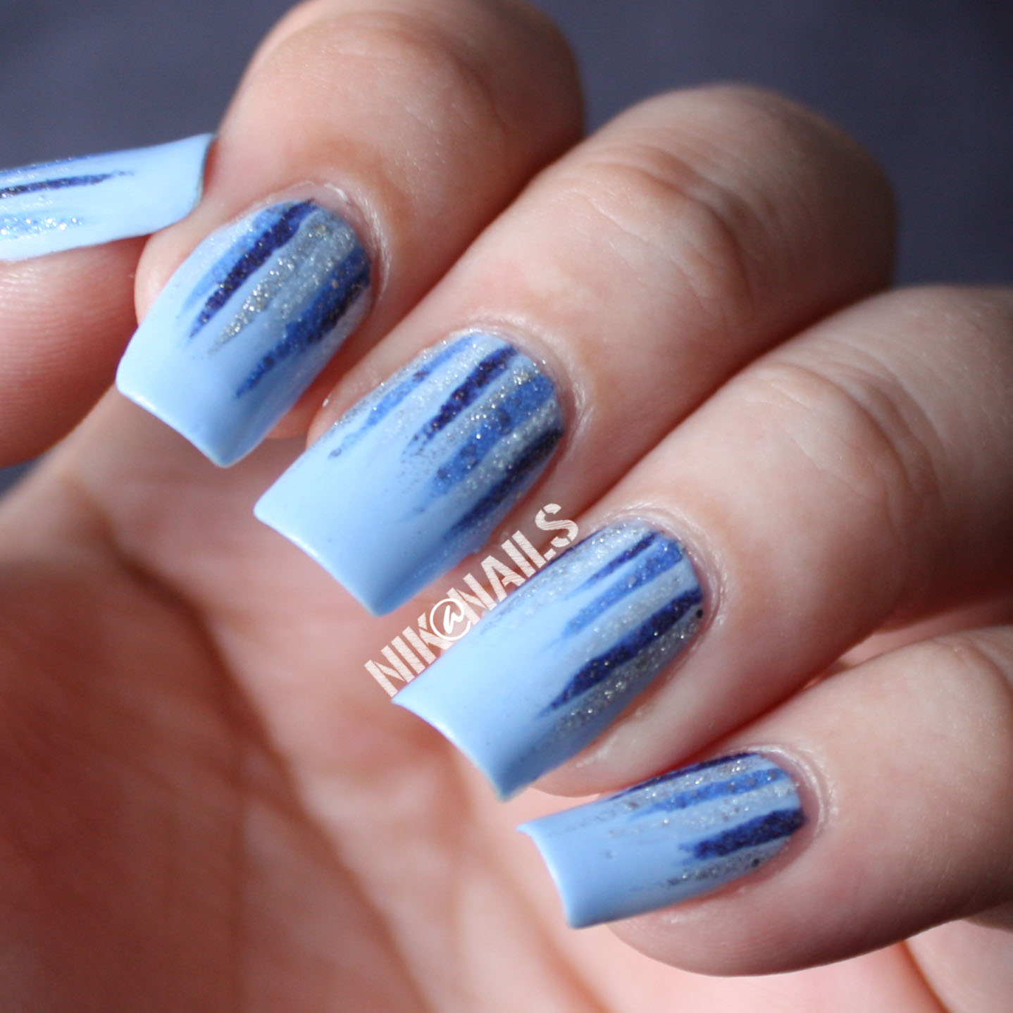Nail Ideas For April: April Nail Art Challenge Day 11: April Showers