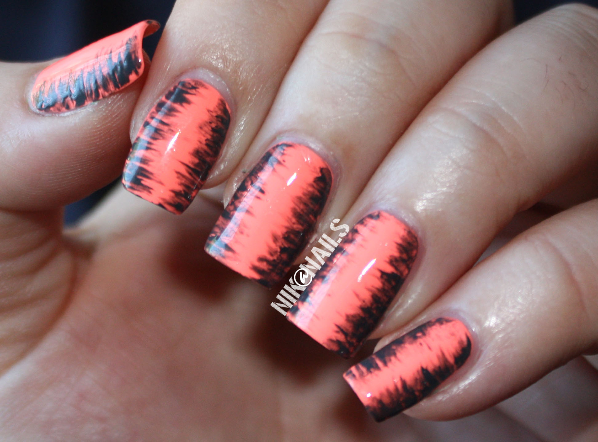 April Nail Art Challenge Day 9 Nailspiration Niknails