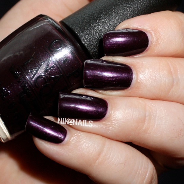 OPI Lincoln Park At Midnight Swatch
