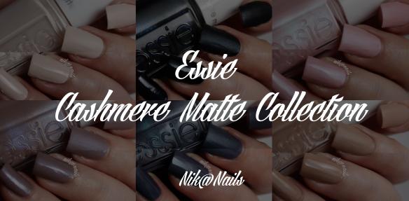 Essie Cashmere Matte Swatches