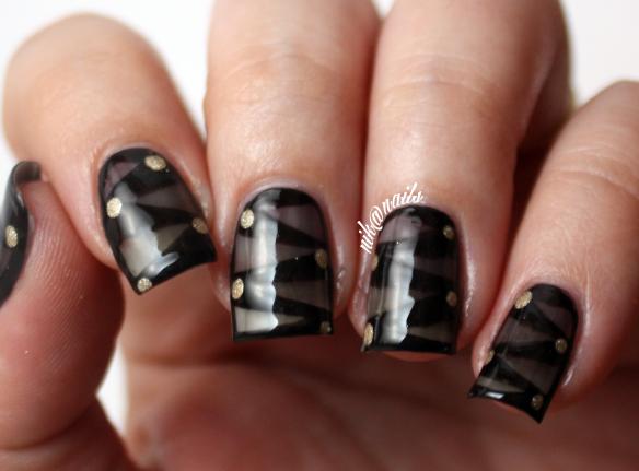 DIY Sheer Black Nail Polish