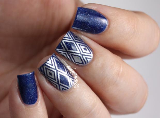 Simple Stamping Nail Art