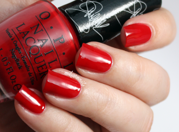 OPI Over and Over A-Gwen Swatch