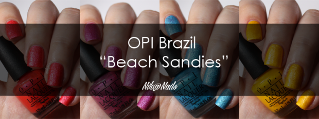 OPI Swatches